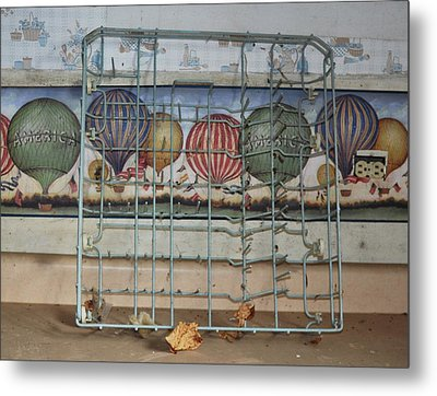Old Kitchen Metal Print by Todd Sherlock