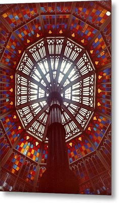 Old Louisiana State Capitol Dome Metal Print