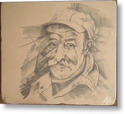 Old Man Metal Print by Curt Sandu Viorel