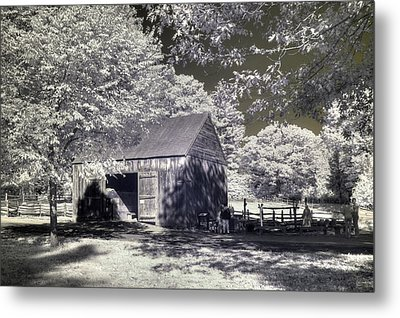 Old Mill Metal Print by Joann Vitali