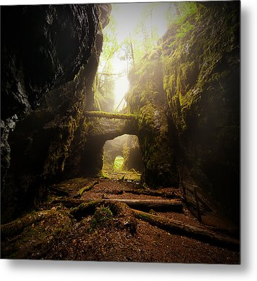 Old Mine Metal Print