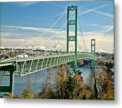 Metal Print featuring the photograph Old Narrows Bridge by Rob Green