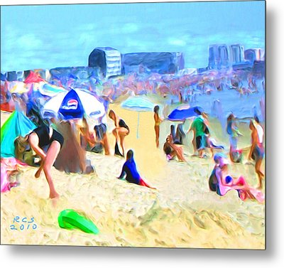 Old Orchard Beach Metal Print