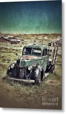 Old Rusty Truck Metal Print by Jill Battaglia