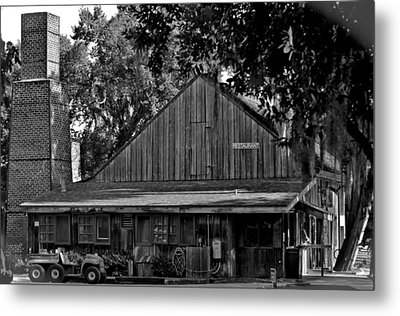 Old Spanish Sugar Mill Metal Print by DigiArt Diaries by Vicky B Fuller