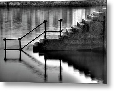Old Stairway Metal Print by Ander Aguirre photography