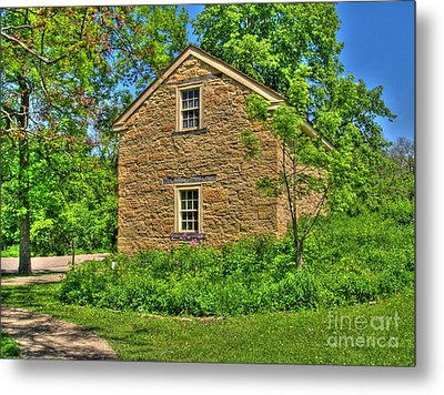 Old Stone House I Metal Print by Jimmy Ostgard