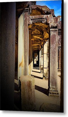 Metal Print featuring the photograph Old Temple by Arik S Mintorogo