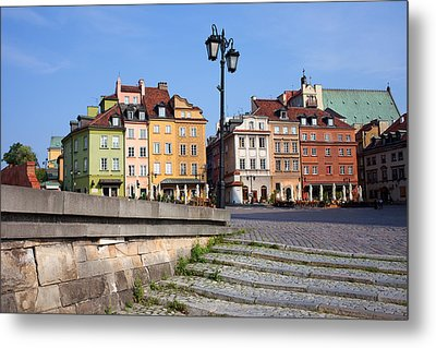 Old Town In Warsaw Metal Print by Artur Bogacki