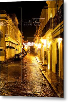 Old Town San Juan Metal Print by Gordon Engebretson