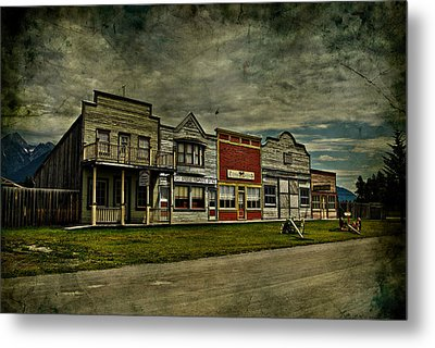 Old Town Witchit  Metal Print by Empty Wall