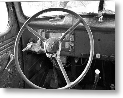 Old Truck Metal Print by Todd Hostetter