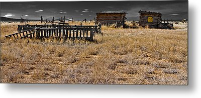 Old West Metal Print