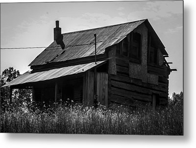 Old West Va Cabin Metal Print by Toma Caul