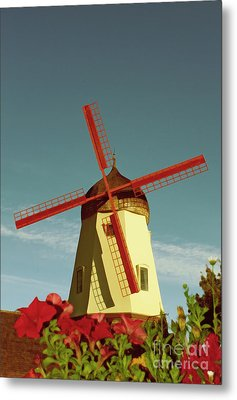Old Windmill  Metal Print by Paul Topp