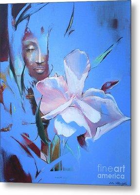 Oleandera Metal Print