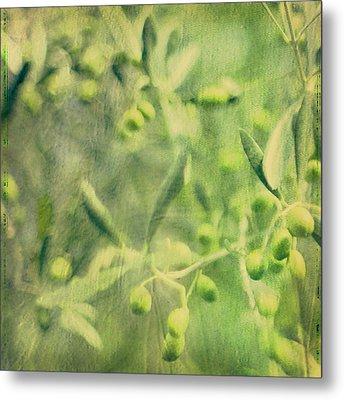 Olive And Leaf Metal Print