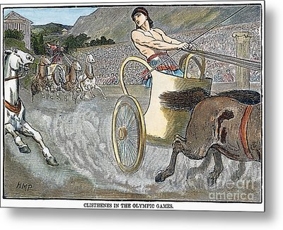 Olympic Games, Antiquity Metal Print by Granger