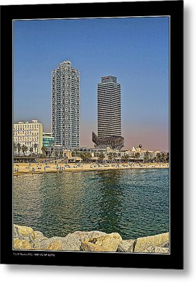 Metal Print featuring the photograph Olympic Harbor Towers by Pedro L Gili