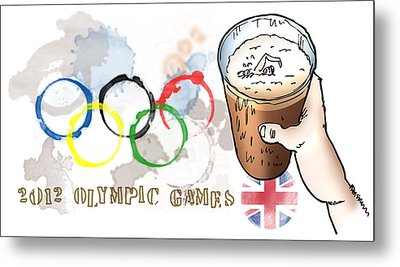 Olympic Rings Metal Print by Mark Armstrong