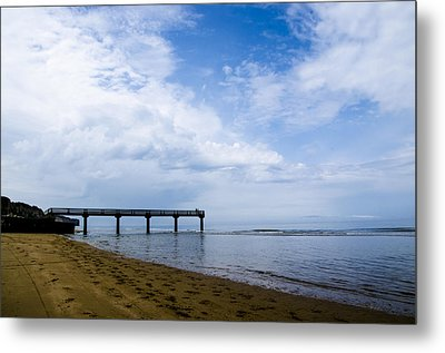 Omaha Beach Metal Print