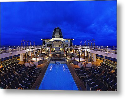 On Deck Metal Print by Metro DC Photography