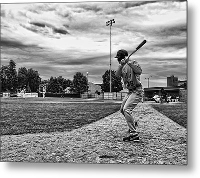 Metal Print featuring the photograph On Deck by Tom Gort