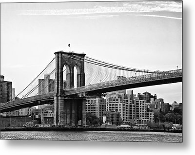 On The Brooklyn Side Metal Print by Bill Cannon
