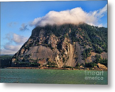 On The Columbia River Metal Print by Edward R Wisell