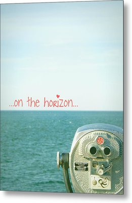 Metal Print featuring the photograph On The Horizon by Robin Dickinson