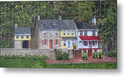On The Road To Frenchtown Metal Print by Margie Perry