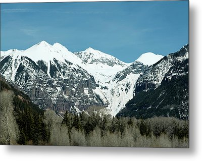 On The Road To Telluride Metal Print