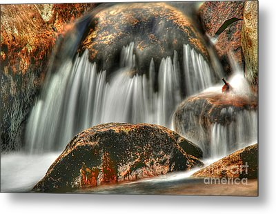 On The Rocks Metal Print by Darren Fisher