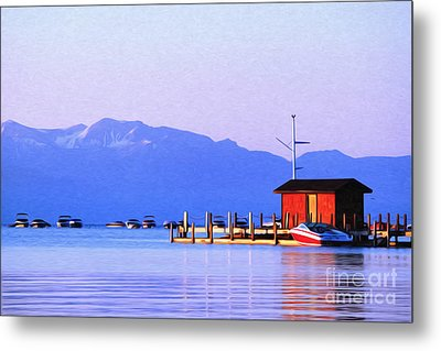 Metal Print featuring the photograph On The Water by Anne Raczkowski