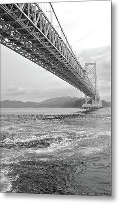Onaruto Bridge Metal Print by Miguel Castaneda