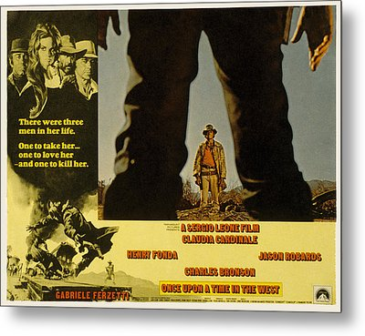 Once Upon A Time In The West, Charles Metal Print by Everett