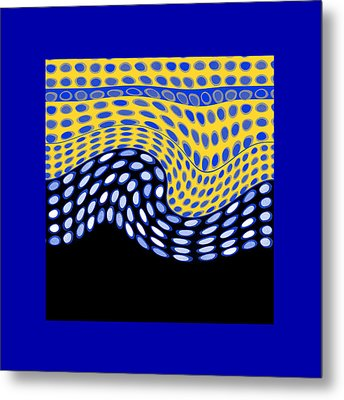 One After Another Metal Print by Ann Powell