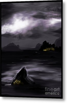 One Dark Night Metal Print by J Kinion