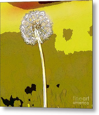 One Day Your Wish Will Come True Metal Print by Artist and Photographer Laura Wrede