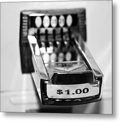 One Dollar Metal Print