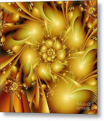 One Evening In Summer Metal Print