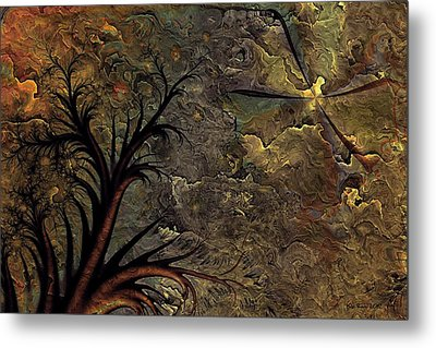 Metal Print featuring the digital art Only A Dream by Kim Redd