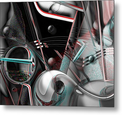 Metal Print featuring the digital art Open Door Policy by Steve Sperry