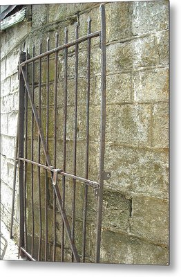 Metal Print featuring the photograph Open Gate by Christophe Ennis