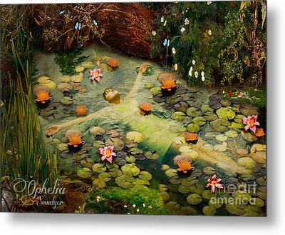Ophelia Metal Print by Eugene James