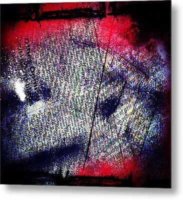 Opinion Of Stain Metal Print by Jerry Cordeiro