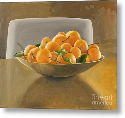 Oranges Metal Print by Melissa Burke
