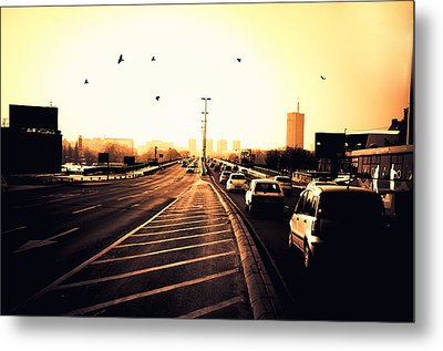 Ordinary Day Metal Print by Uros Zunic