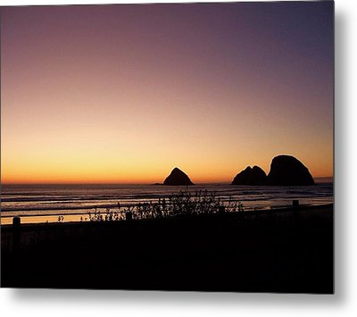 Oregon Coast 16 Metal Print