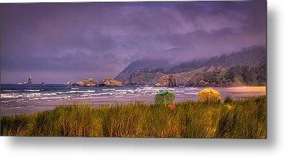 Oregon Seascape Metal Print by David Patterson